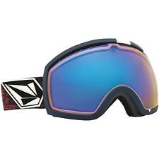 NEW Electric EG2 Volcom Colab Blue Oversized ski snowboard goggles Msrp$190