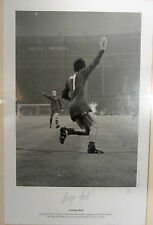 George Best - A Trio of Signed Pictures With A 1968 European Cup Final 22/250