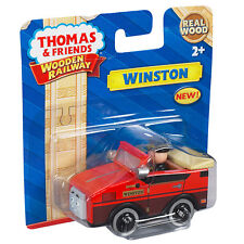 Winston Thomas & Friends WOODEN RAILWAY Train 100% Authentic Wood NEW