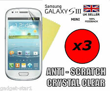 3x HQ CLEAR SCREEN PROTECTOR COVER GUARD FILM FOR SAMSUNG GALAXY S3 MINI i8190
