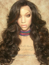 Loose curl lace front wig, Kim K, Kim Kardashian lace front wig, long, big hair