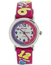 Reloj de cuarzo Blue Ravel chicos 3D tiempo de diseño profesor con dial blanco R1513.42