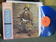 NEW YORK TOKYO DOLLS LIVE blue vinyl DAVID & SYLVAIN Fan Club FC018 LP FRANCE 86