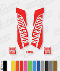 RockShox PIKE 2015 2016 Style Decals Stickers - 12+ Custom Colours