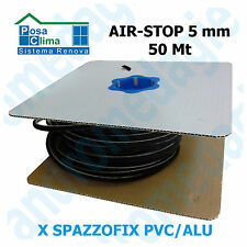 AIR-STOP 5MMx50MT COIL Built brush seal for profil Spazzofix Alu/Pvc