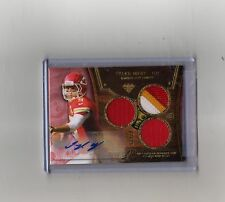 #2/15 (ONLY 15) 2013 TOPPS TRIPLE THREADS AUTO AUTOGRAPH JERSEY TYLER BRAY RC