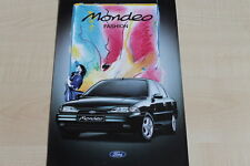 160061) Ford Mondeo - Fashion - Prospekt 02/1995