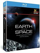 EARTH & SPACE The Universe & How The Earth Was Made NEW 6 BLU-RAY DISC SET
