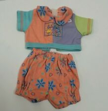 Zapf Creation Baby Born Floral Orange Two Piece Set Doll Outfit