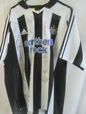 Newcastle United Home Football Shirt Signed by 2004-2005 Squads with COA /9241
