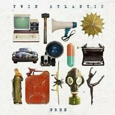 "TWIN ATLANTIC ""FREE"" CD  13 TRACKS NEU"