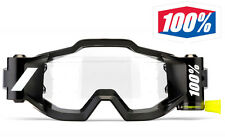 100% FORECAST MOTOCROSS GOGGLE ROLL-OFF FILM SYSTEM 100 PERCENT enduro bike