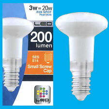 3W (=20W) R39 LED Spot Light Bulbs Pearl Lamps SES E14 Top Quality Low Energy