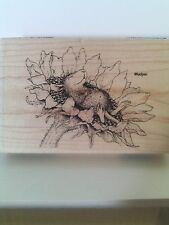 "House Mouse by Stampendous ""Sunflower Smile"" WM Rubber Stamp"