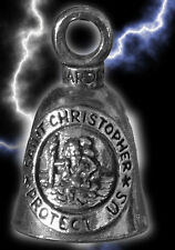 SAINT CHRISTOPHER Guardian® Bell Motorcycle - Harley Accessory HD Gremlin NEW