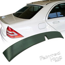 01-07 Unpainted For Mercedes-Benz W203 C-Class L-Type Rear Roof Lip Spoiler ABS