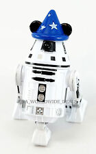 NEW Disney Parks WDW Star Wars Droid Factory R2-4L0 Figure + Mickey Sorcerer Hat