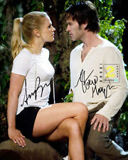 "Anna Paquin - Stephen Moyer 8""x 10"" Signed Color PHOTO REPRINT"
