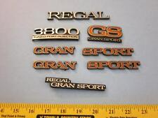Buick Regal Gran Sport GS 3800 Tuned Port Injection Factory Body Emblems