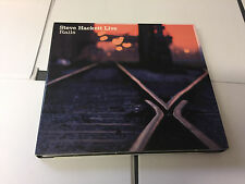 Steve Hackett ‎– Live Rails M/NM Wolfwork WWCD002 2 CD Digipak 5060214220019