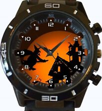 Witch On The Broom Art New Gt Series Sports Unisex Watch