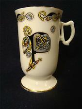 "Royal Tara Irland ""Tara Hall"" Design 4 1/2 inches Tall Footed Irish Cup #16"