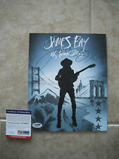 James Bay 2015 Signed Autographed 8x10 Litho PSA Certified