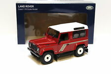 1:18 UH Land Rover Defender 90 TDI red/ white NEW bei PREMIUM-MODELCARS