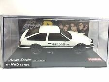 JAPAN KYOSHO MINI Z INITIAL D TOYOTA AE86 TRUENO SPRINTER CAR SHELL AWD SERIES