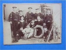 Foto Hartpappe Kaiserliche Marine SMS Brandenburg Hirschfänger M 71