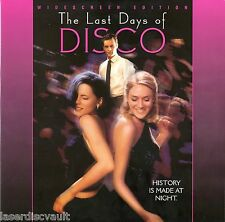The Last Days Of Disco Laserdisc '98 [ID5093PG] NEW Widescreen Cult Classic LD