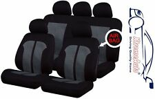 9 PCE Knightsbridge Full Set of Car Seat Covers for Mazda 3, 323, 6, 626, 2