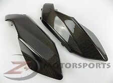 2007-2009 Aprilia Shiver 750 Gas Tank Side Trim Panel Cowl Fairing Carbon Fiber