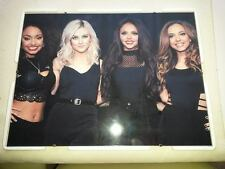 Little mix poster  A3. Framed on H/Q 260gsm photo paper