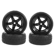 4pcs/Set 1/10 RC Drift Tires & Wheel Rim Fit For HSP HPI 1:10 On-Road Racing Car