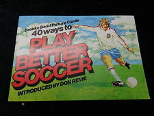 Brooke Bond - 1976 - Play Better Soccer - Full Set of Cards & Album