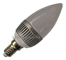 E14 SES 12 SMD LED 2.5W 215LM White Candle Bulb ~40W