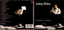Anthony Warlow Cd - Centre Stage, (now deleted)