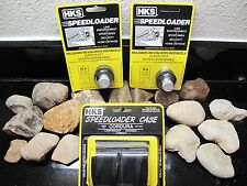 3PACK!! HKS Speedloader HKS Magnum 10-A .38 Special .357 Mag WITH POUCH