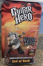 NEW 2008 McFarlane Toys Guitar Hero God of Rock Figure (White Toga)