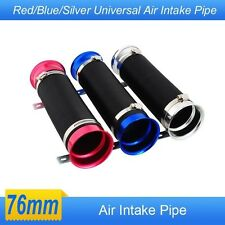car modification supplies telescopic tube ventilation tube intake air pipe 76MM
