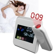 3.7'' Digital LCD Time Projection Projector LED Alarm Clock Weather Temperature