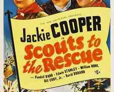 SCOUTS TO THE RESCUE, 12 CHAPTER SERIAL, 1939