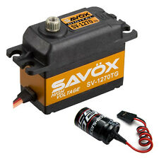 Savox SV-1270TG High Voltage Monster Torque Titanium Gear Digital Servo + Glitch