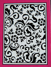 Crafts-TOO/CTFD 3064/C6/carpeta de grabación en relieve// Flor Florecer