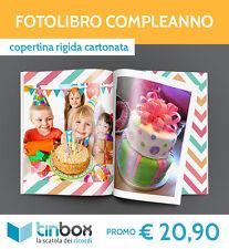 FOTOLIBRO COMPLEANNO f.to A4 - Copertina rigida ALBUM FOTO | FOTOLIBRI | TINBOX