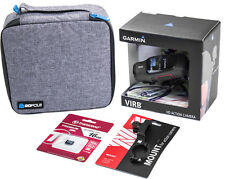 GARMIN VIRB 1080p HD Action Camera with Travel Case, Memory & Cycle Mount! NEW!