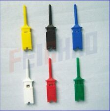 12pcs small hook tests Grabber single probe Clip for PCB SMD IC F01892-2