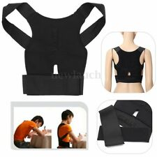 HOT Back Posture Correction Support Corrector Lumbar Shoulder Brace Belt Therapy