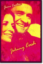 JOHNNY CASH & JUNE CARTER PHOTO PRINT POSTER GIFT